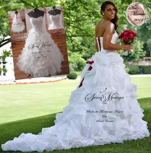 Robe de mariee jessica houara sur mesure SUNNY MARIAGE PARIS