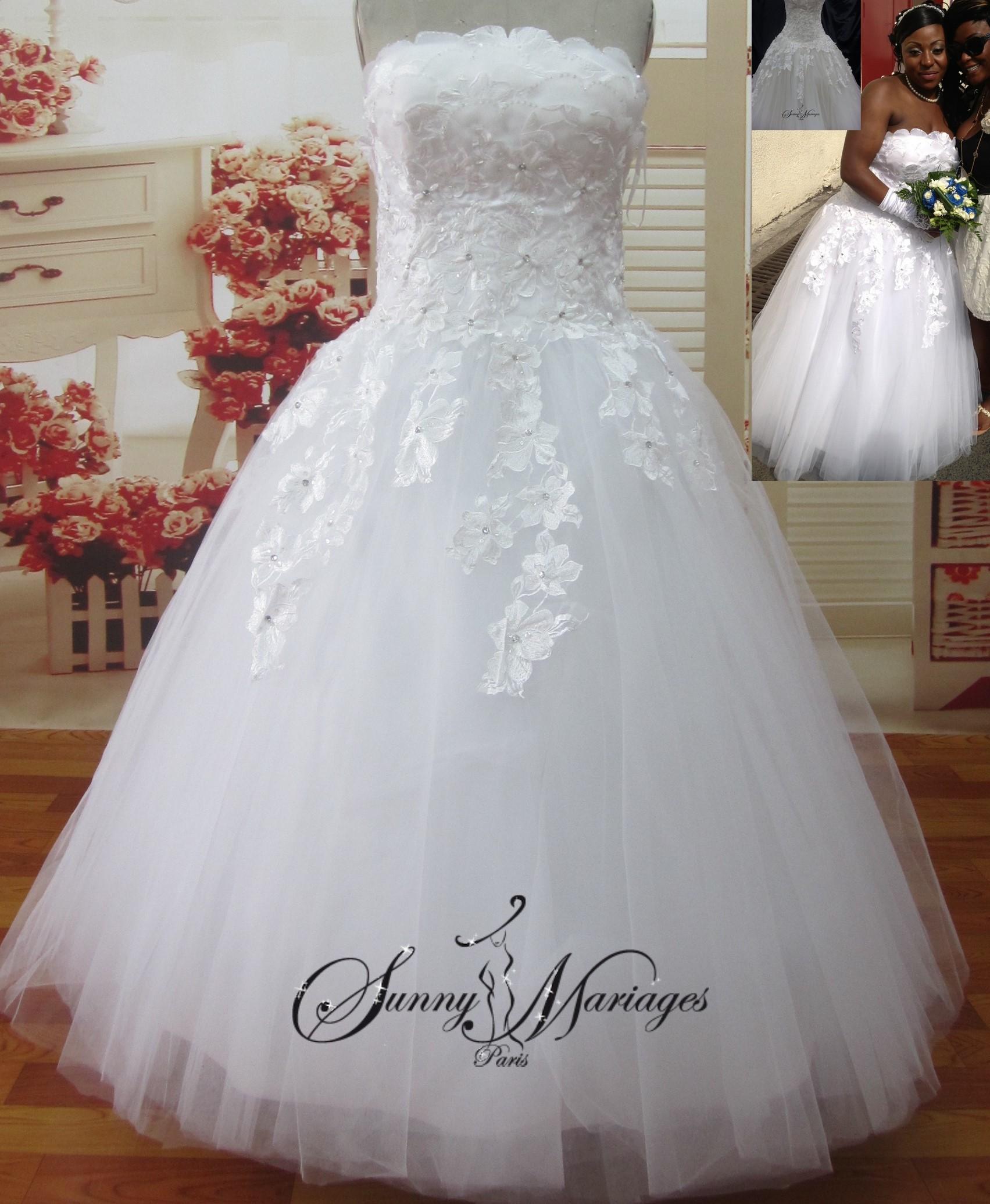 robe de mariee en tulle robe de mariee jupe danseuse robe de mariee couleur site francais de. Black Bedroom Furniture Sets. Home Design Ideas