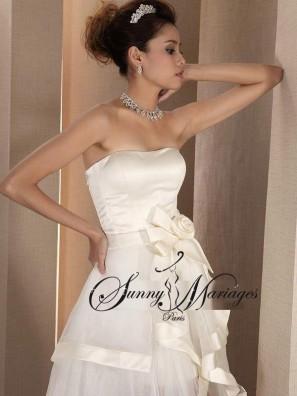 robe de mariee longue et courte robe de mariee originale. Black Bedroom Furniture Sets. Home Design Ideas