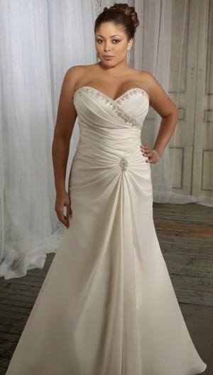 ... » robe de mariée » Robe de mariée grande taille « Saule