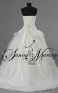 robe de mariee plume originale