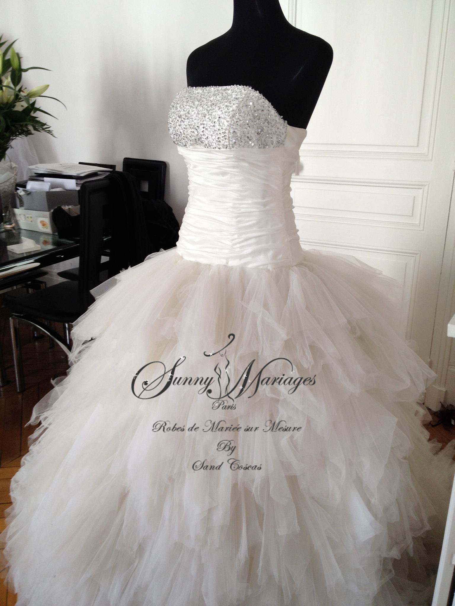 ici : Sunny Mariage » robe de mariée » Robe de mariée princesse ...