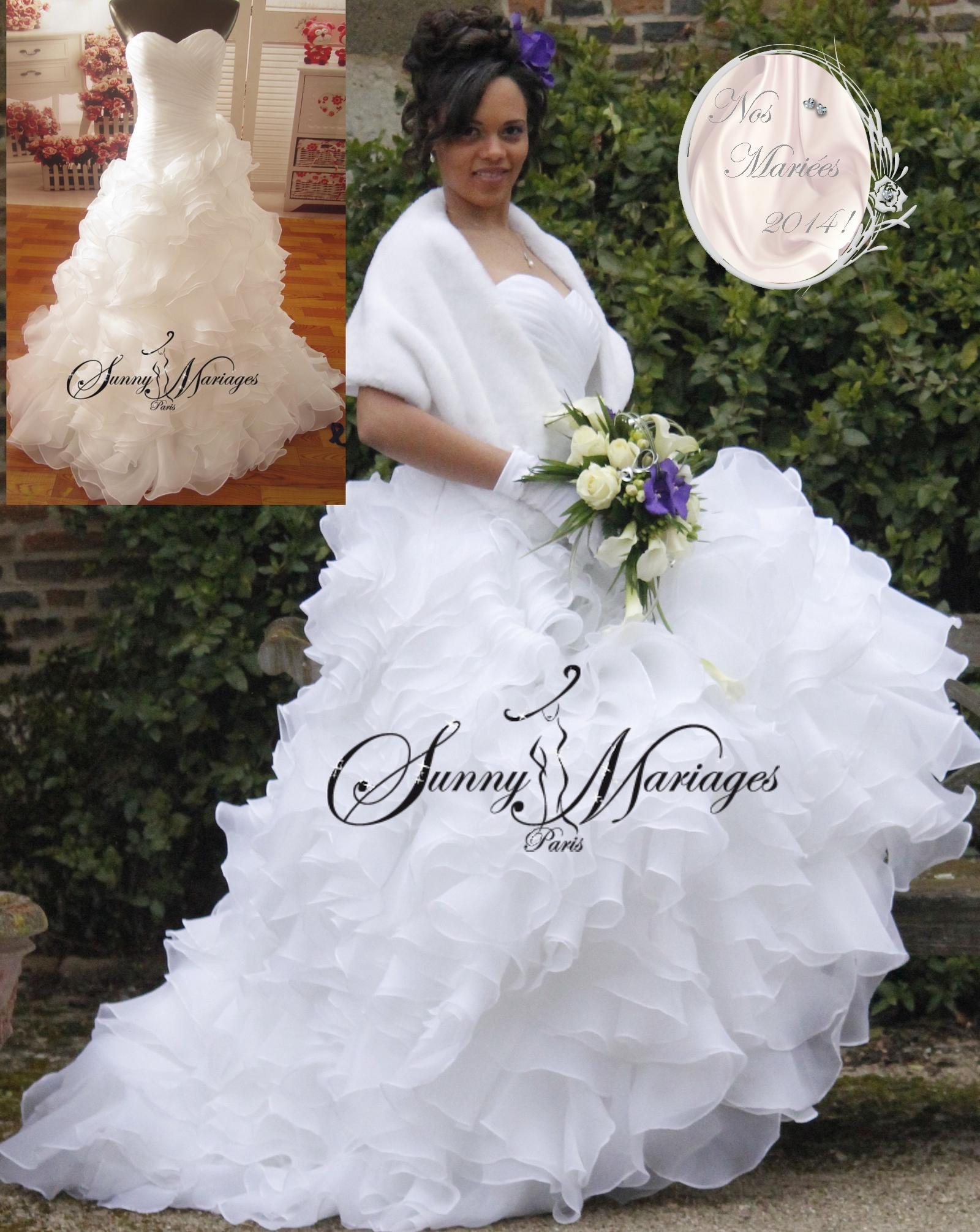 Robe de mariage ligne a