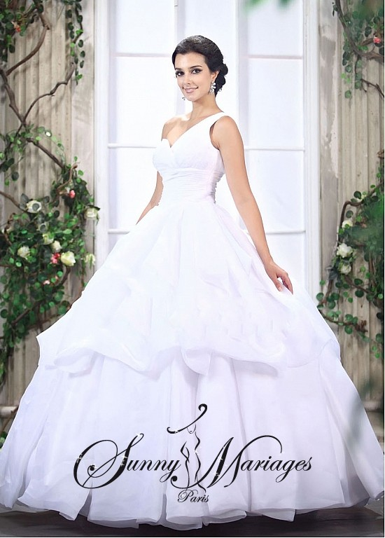 de mariee princesse, robe de mariee princesse, robe de mariee bretelle ...