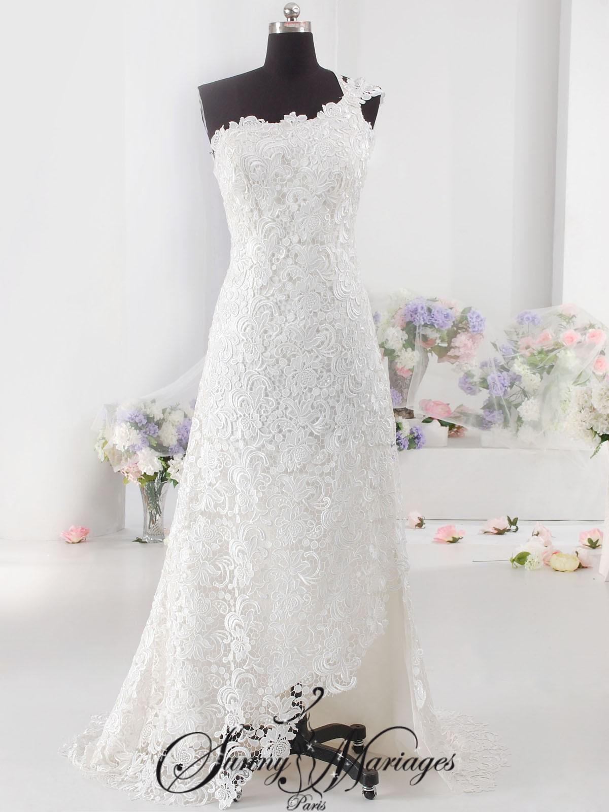 Robe de mariée dentelle – robe de mariée originale « Californie ...