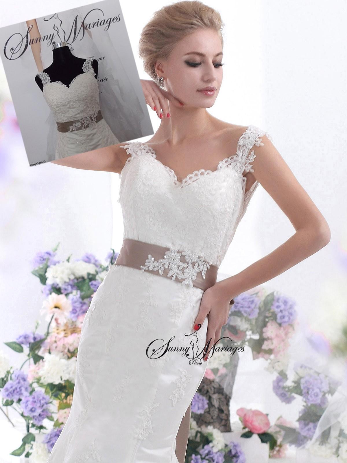 Robe de mariee en dentelle forme sir ne en vente en ligne for Vente de liquidation de robe de mariage
