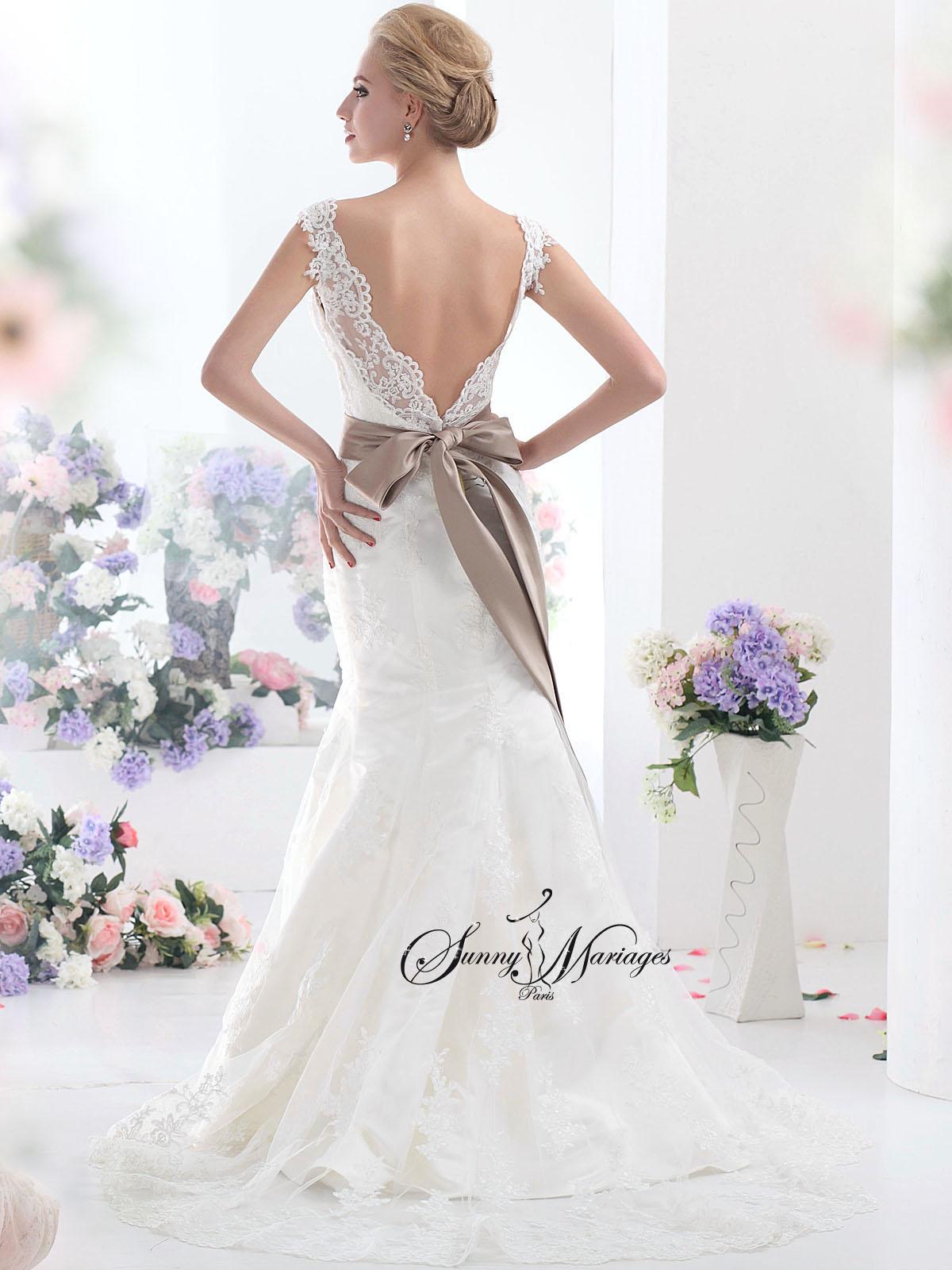 ... de robe de mariee tout le romantisme intemporelle de la dentelle qui