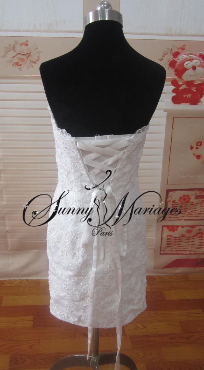 robe de mariee boheme chic et deux en un une jupe longue amovible sur une robe de mariee courte. Black Bedroom Furniture Sets. Home Design Ideas
