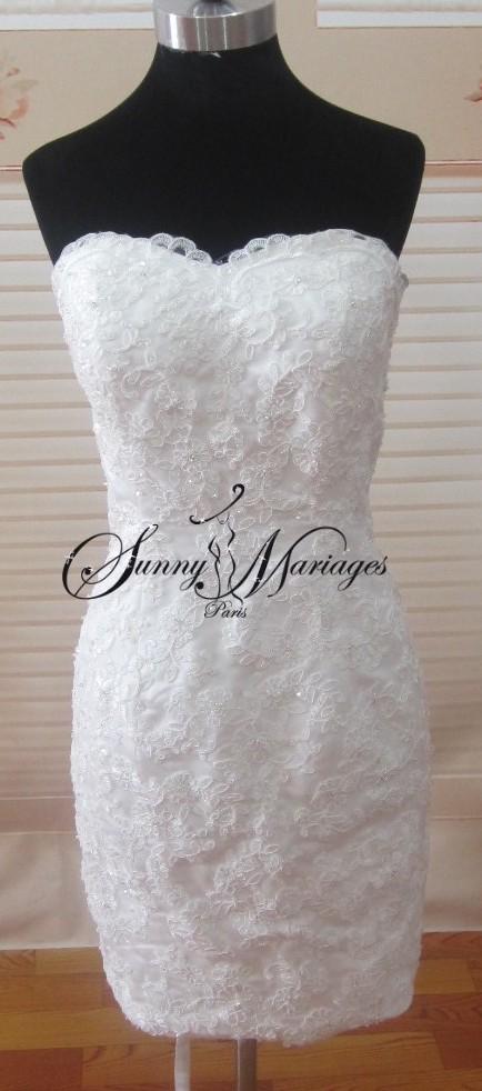 robe de mari e jupe amovible id es et d 39 inspiration sur le mariage. Black Bedroom Furniture Sets. Home Design Ideas