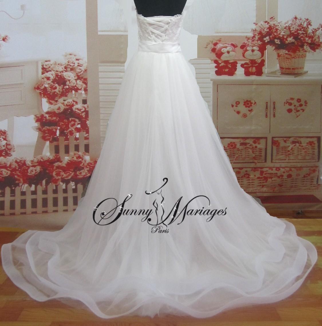 Robe de mari e jupe amovible for Robe de mariage et jupe