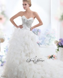 robe de mariee princesse bustier strass vente en ligne pas chere site ...