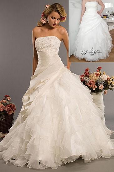 robe de mariee princesse sur mesure et pas cher sunny mariage. Black Bedroom Furniture Sets. Home Design Ideas