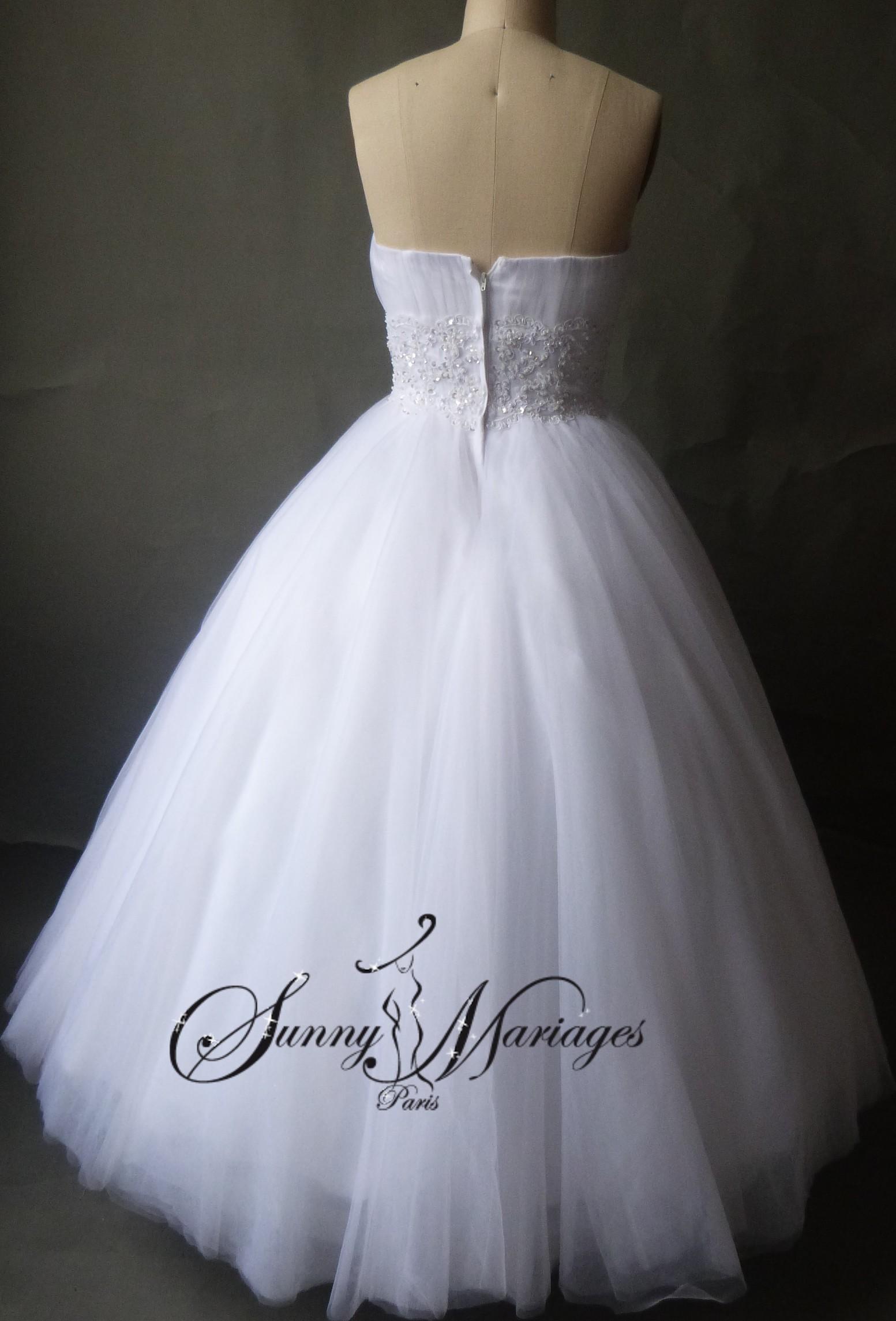 ... de mariee bustier drapé et ceinture en strass robe de mariee pas cher