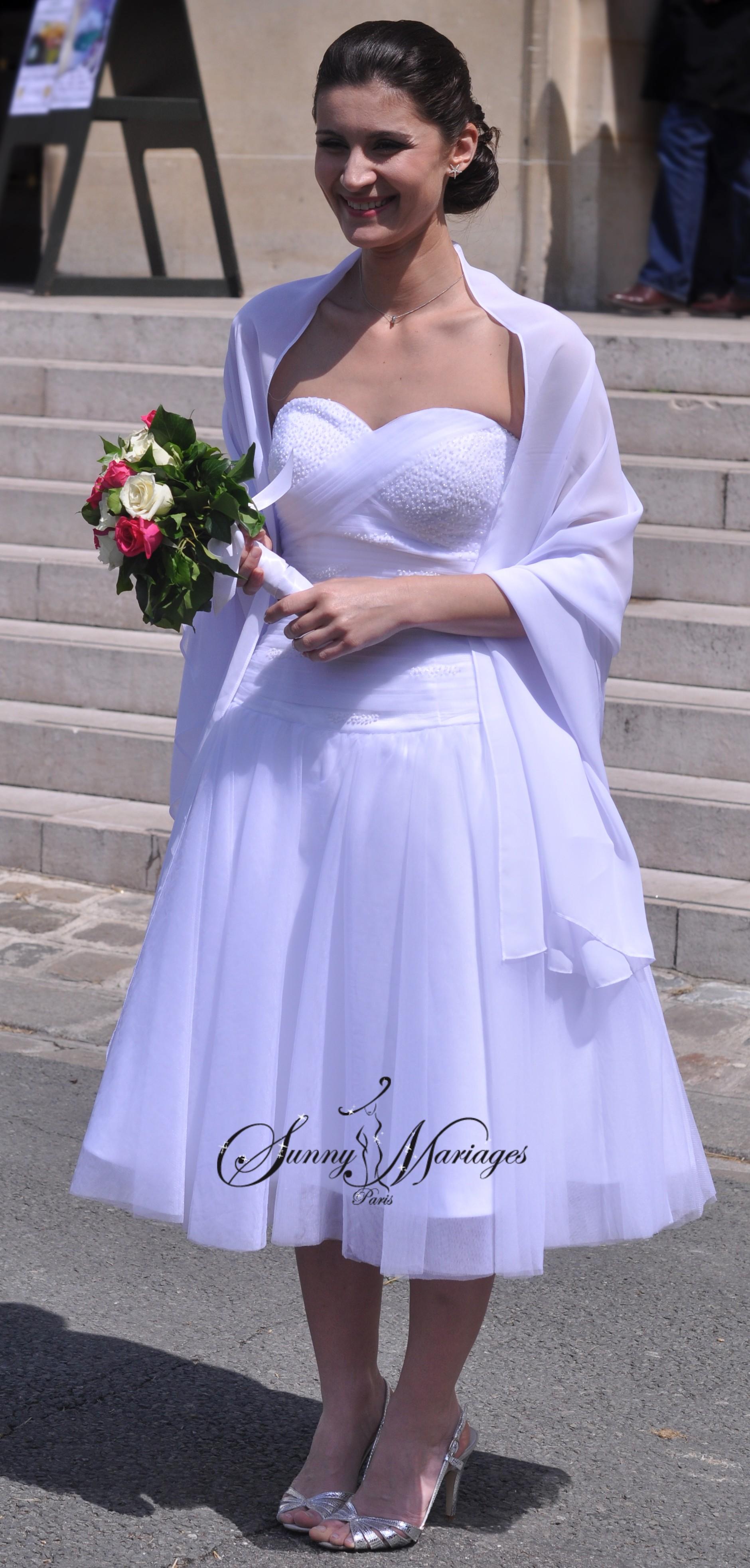 robe de mariee courte et simple sunny mariages sunny mariage