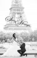 robe de mariee de princesse avec un bustier en organza drappé, robe de mariee au chic parisien avec un prix qui séduira toutes