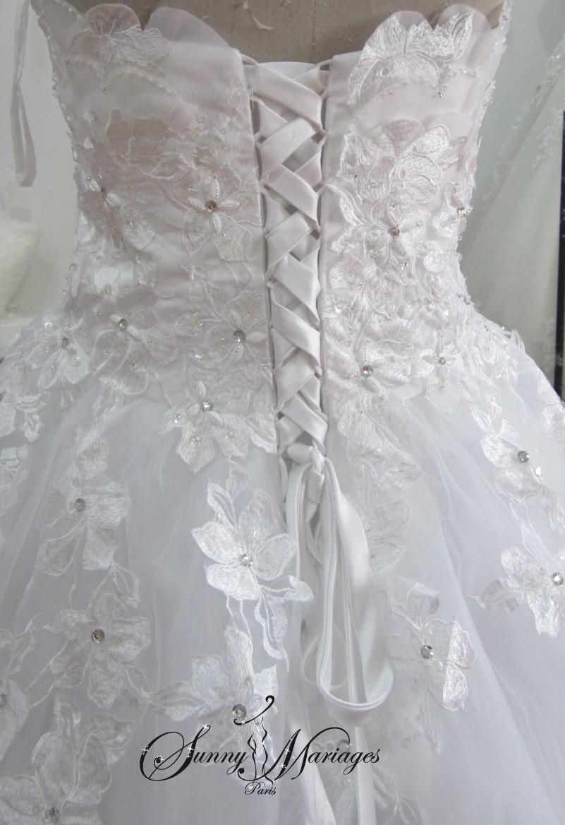 robe de mariee couleur, robe de mariee simple, site francais de robe ...