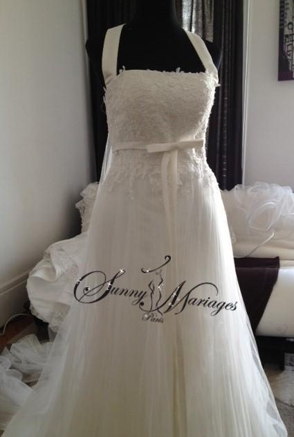 robe de mariage empire pas chere vendue en ligne ou sur r v sunny mariage. Black Bedroom Furniture Sets. Home Design Ideas