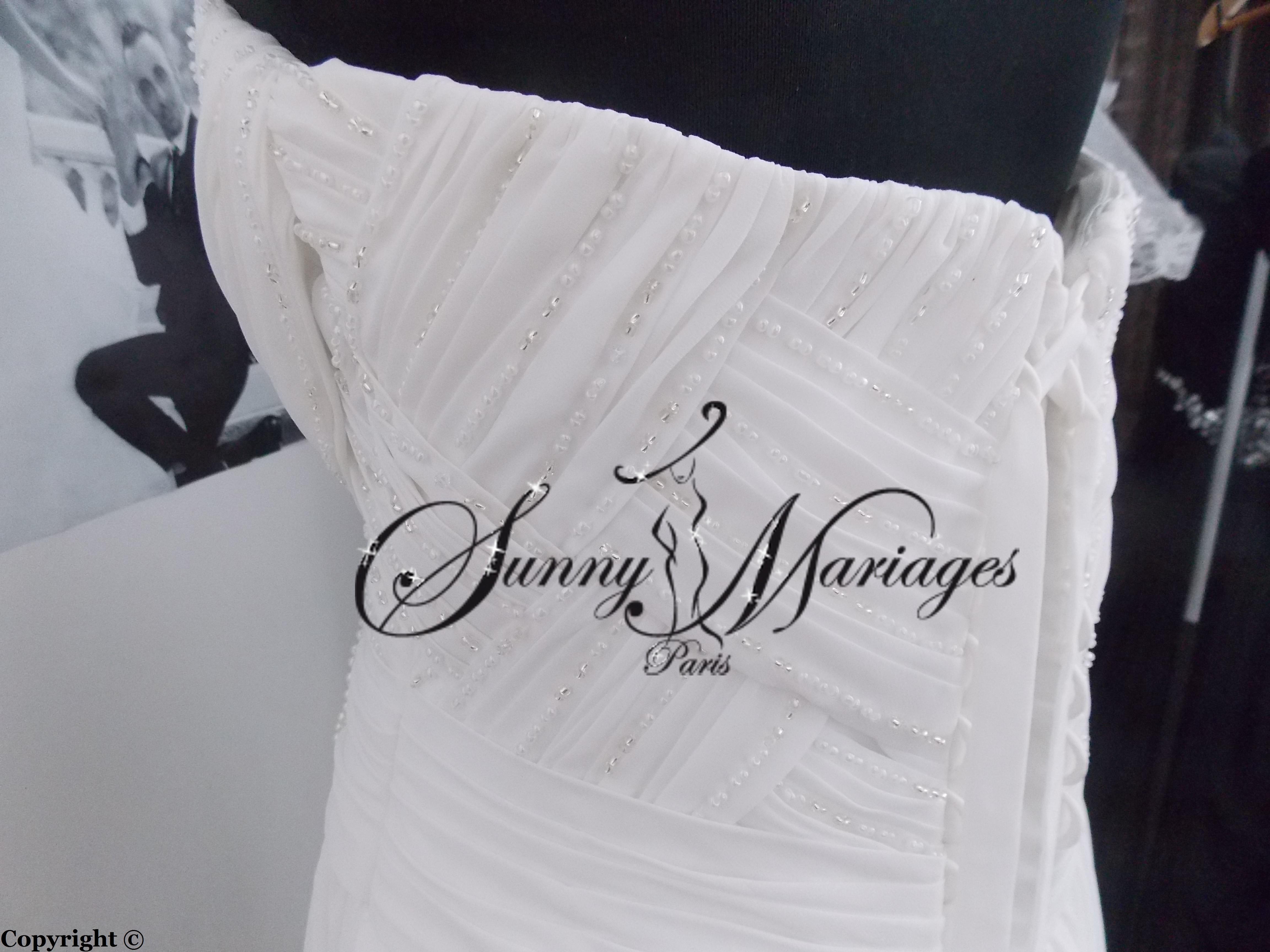 robe de mariee en vente en ligne site et société francaise  Sunny ...