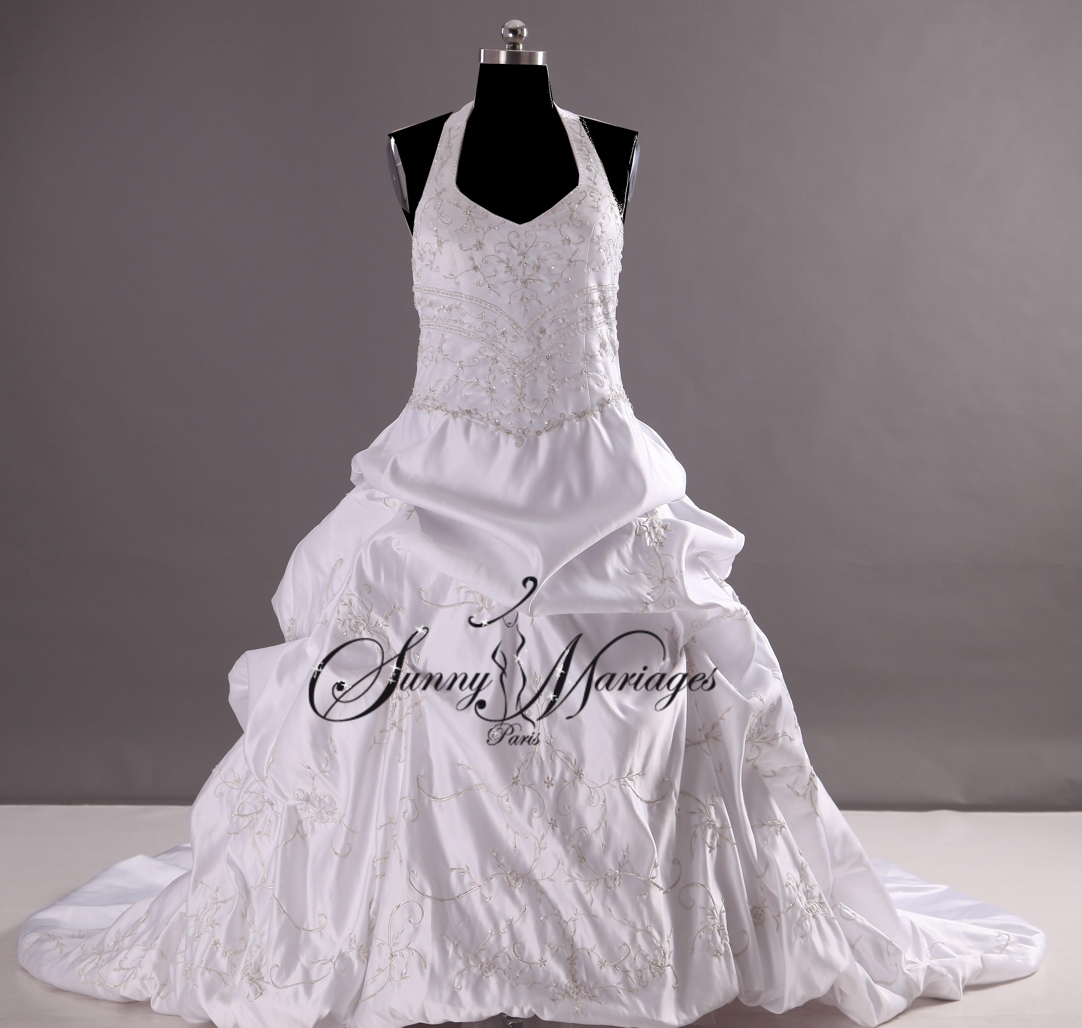 robe de mariee princesse r alisable en grande taille