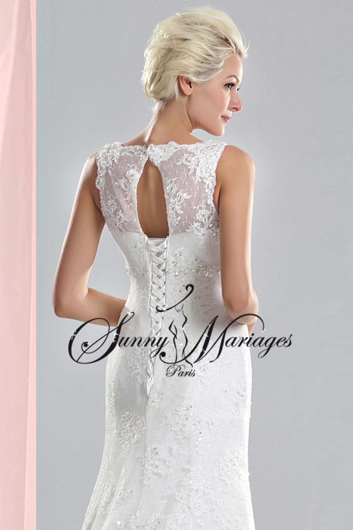 Robe de mariée dentelle « CALINE »