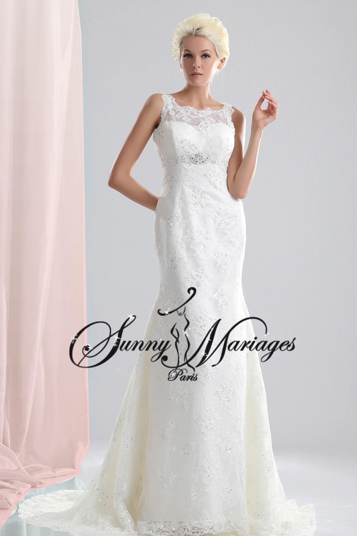 ... Mariage » robe de mariée » Robe de mariée dentelle « CALINE
