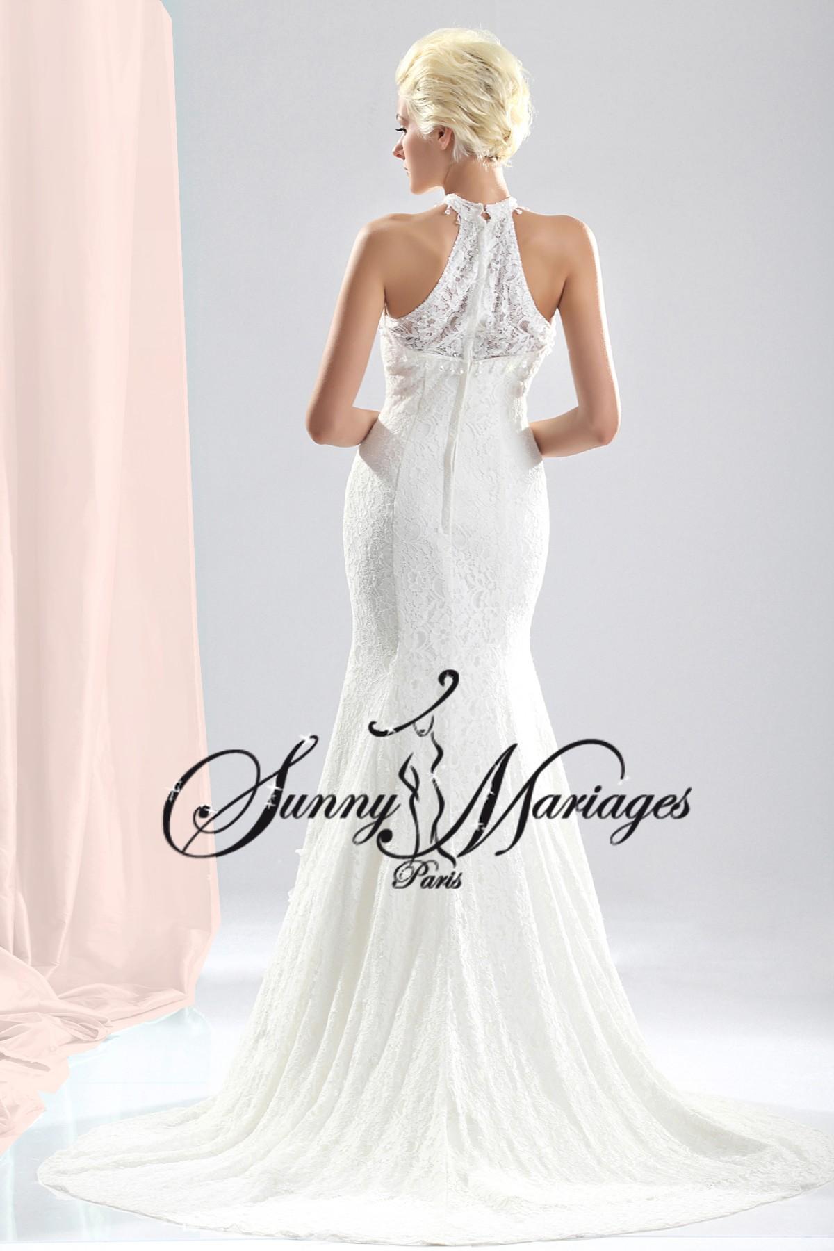 robe de mariage en dentelle SUNNYMARIAGES 599€ Sur mesures, sur ...
