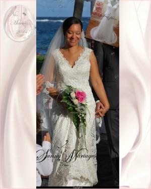 Robe mariage dentelle macrame sur mesure grande taille for Meilleurs sites de robes de mariage en ligne