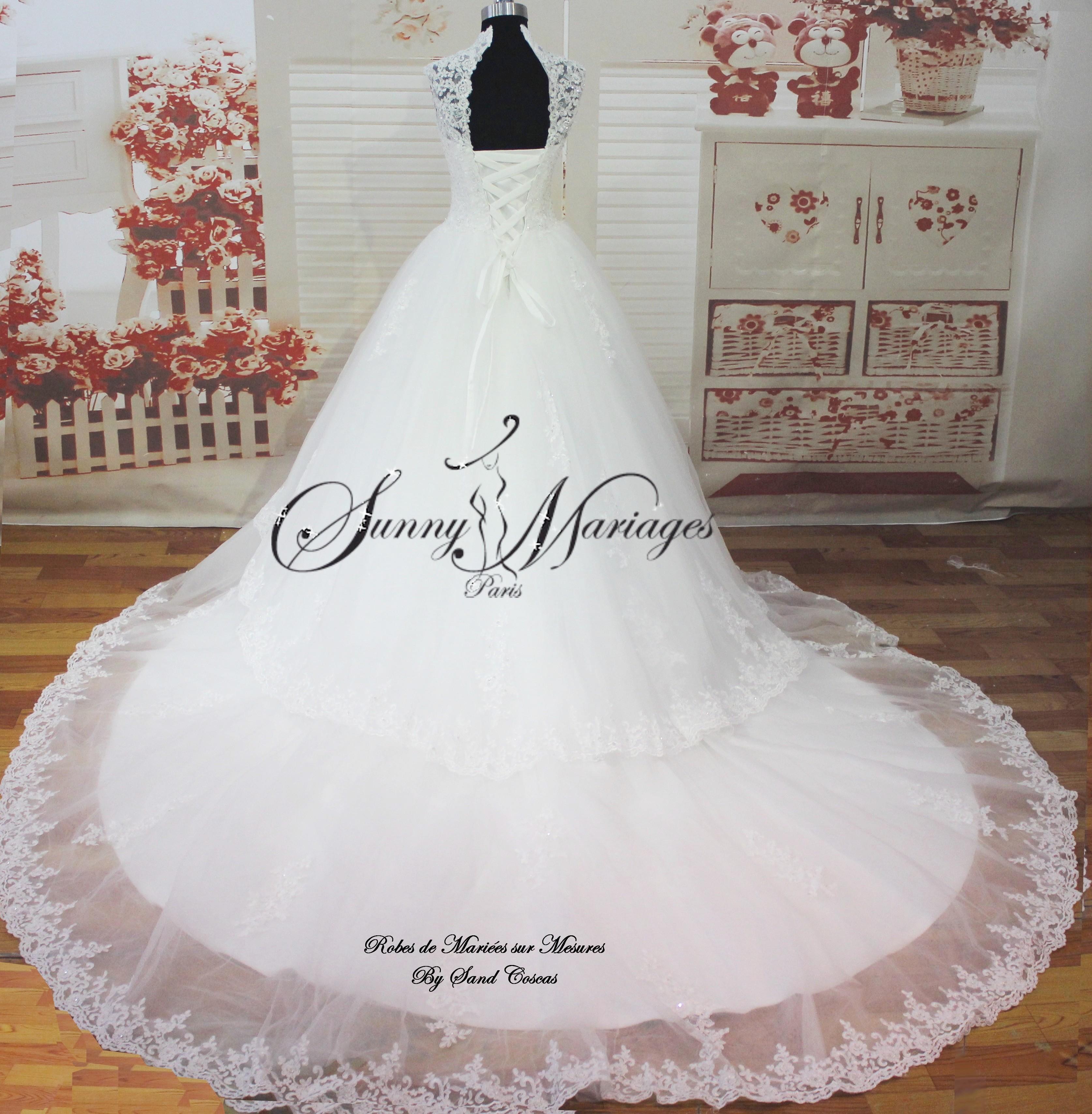 robe de mariee en stock taille 36 et 38 disponibles SUNNY MARIAGES