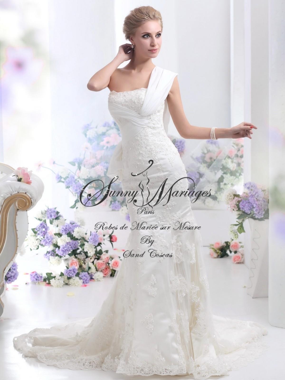 ... robe de mariée » Robe de mariée fourreau ou sirène « Clara