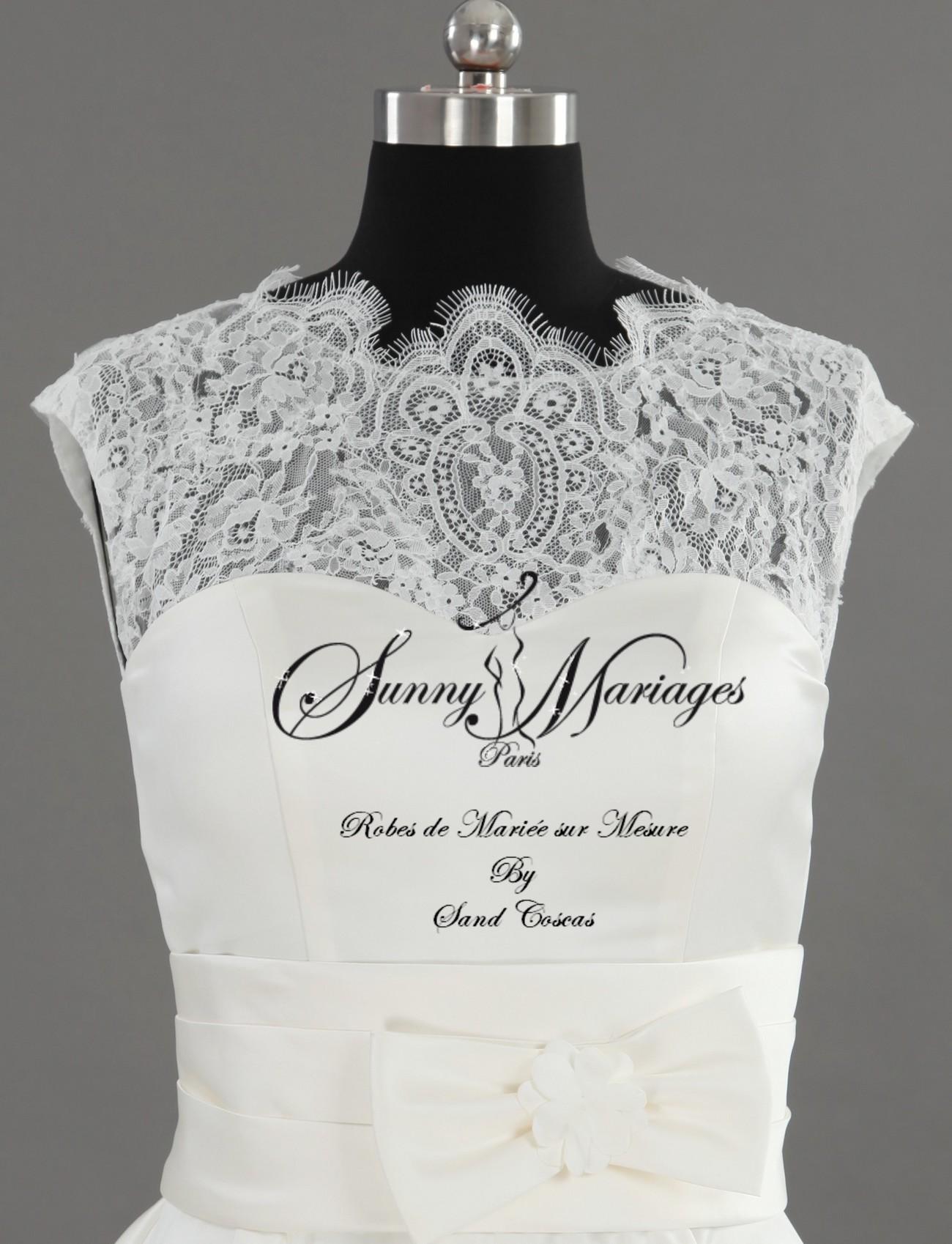 robe de mariee courte sur mesure ou stock sunny mariage. Black Bedroom Furniture Sets. Home Design Ideas