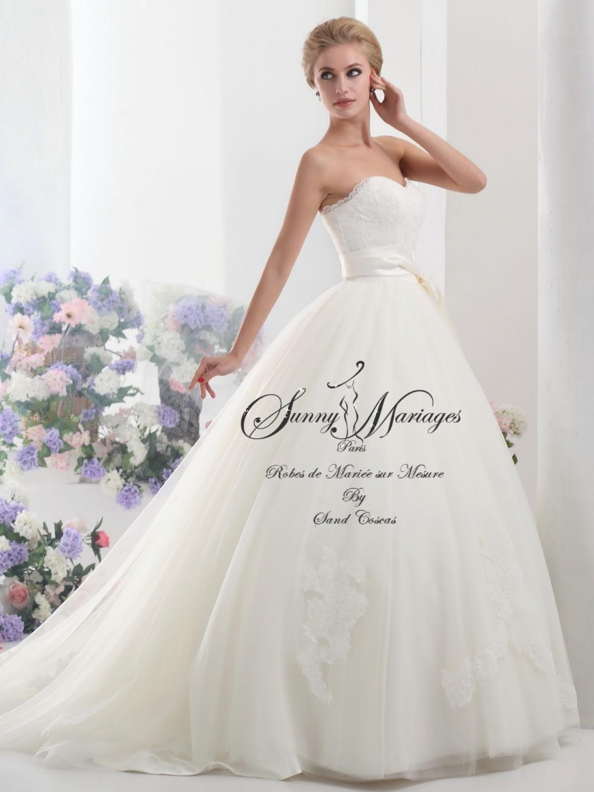 robes de mariée princesse sur mesure SUNNY MARIAGES PARIS  Sunny ...