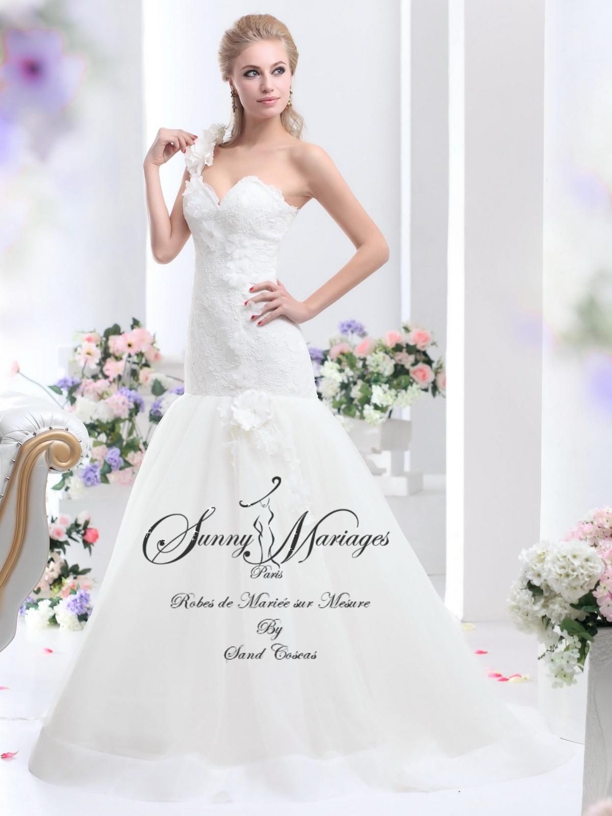 robes de mariee bustier et bretelle SUNNY MARIAGES en ligne ou sur ...
