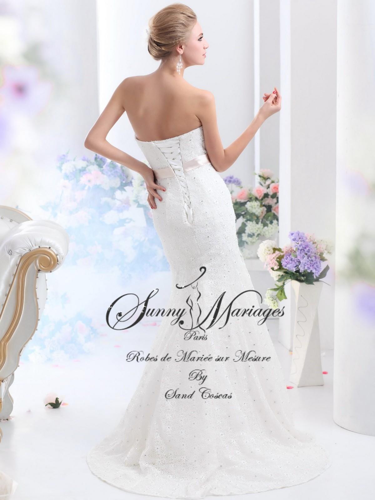 robes de mariée fourreau sirène pas cher SUNNY MARIAGES PARIS ...