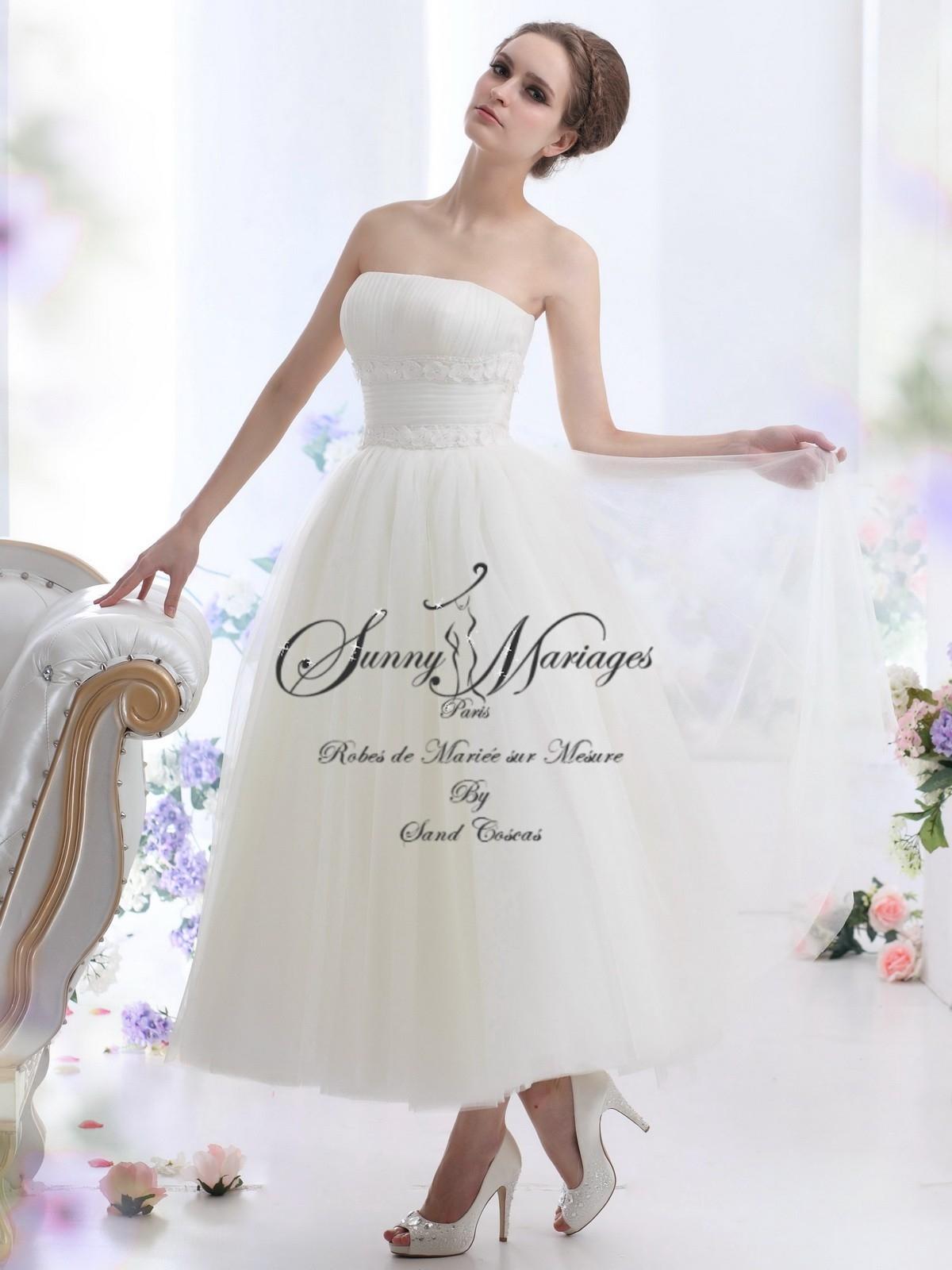 robes de mari e bustier longueur cheville sunny mariage