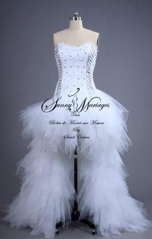 robe de mariee mustang courte
