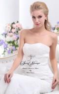 robe de mariée bustier, dentelle