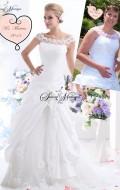 robe de mariée dentelle manche