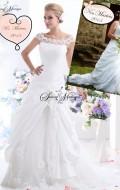 robe de mariee princesse dentelle sur mesure