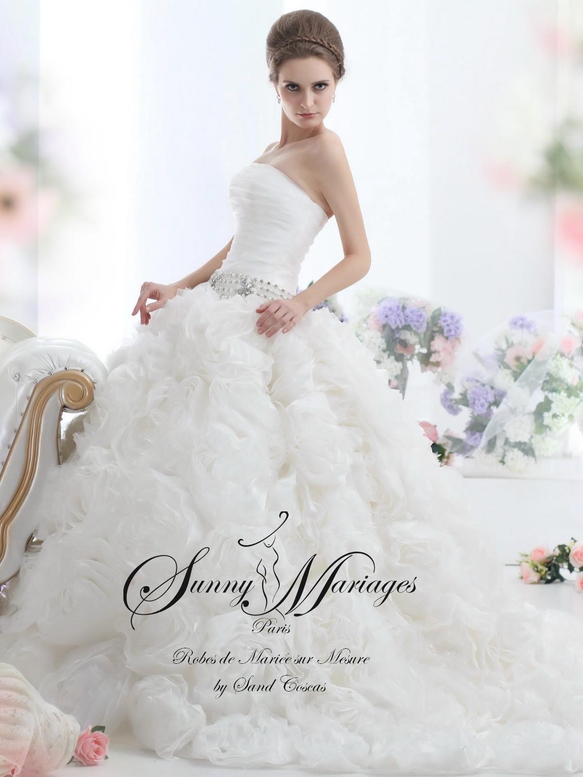 robe de mari e 2016 cr atrice robe de mari e sunny mariage. Black Bedroom Furniture Sets. Home Design Ideas