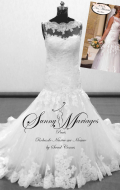 robe de mariée-robe de mariée dentelle