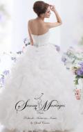 robe de mariée froufrou