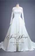 robe de mariée, robe de mariée manche longue
