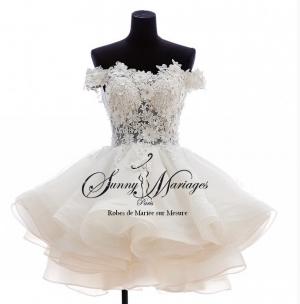 robe de mariée courte