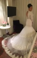 robe de mariée dos ouvert
