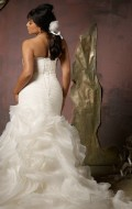 robe de mariee sirene avec bustier coeur vente en ligne ou sur rendez vous