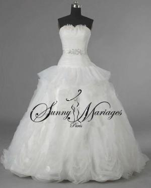 robe de mariee bustier