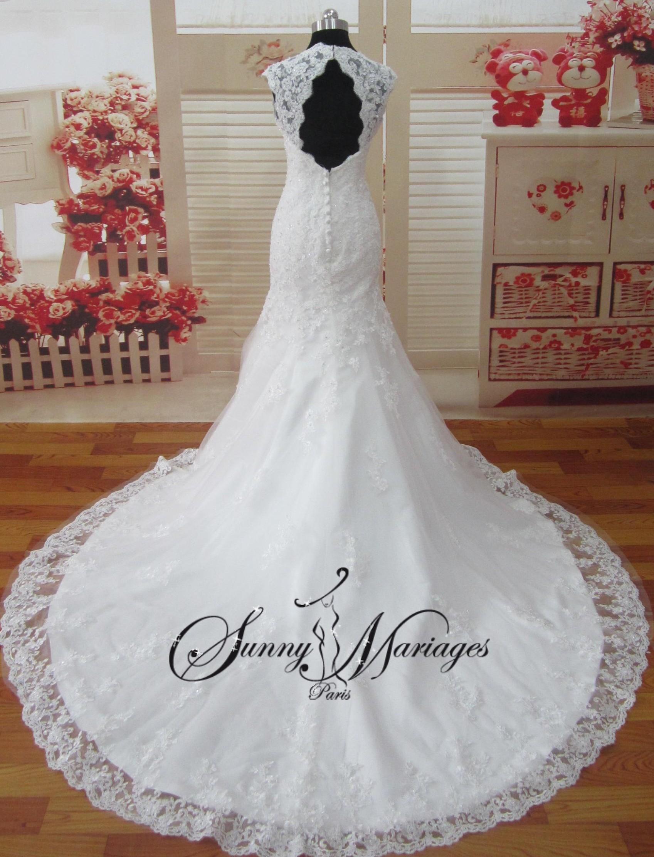robes de mariee en dentelle robe de mariee manche robe de. Black Bedroom Furniture Sets. Home Design Ideas