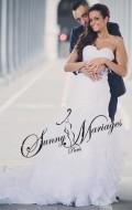 robe de mariee au chic parisien et au style froufrou espagnole, vendue en ligne ou sur rendez vous, une robe de mariage sirene pas chere