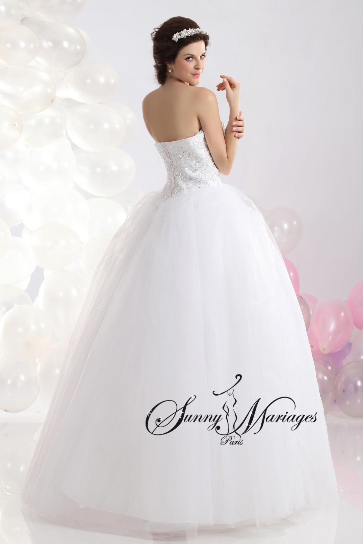 Robe de mariage moins cher