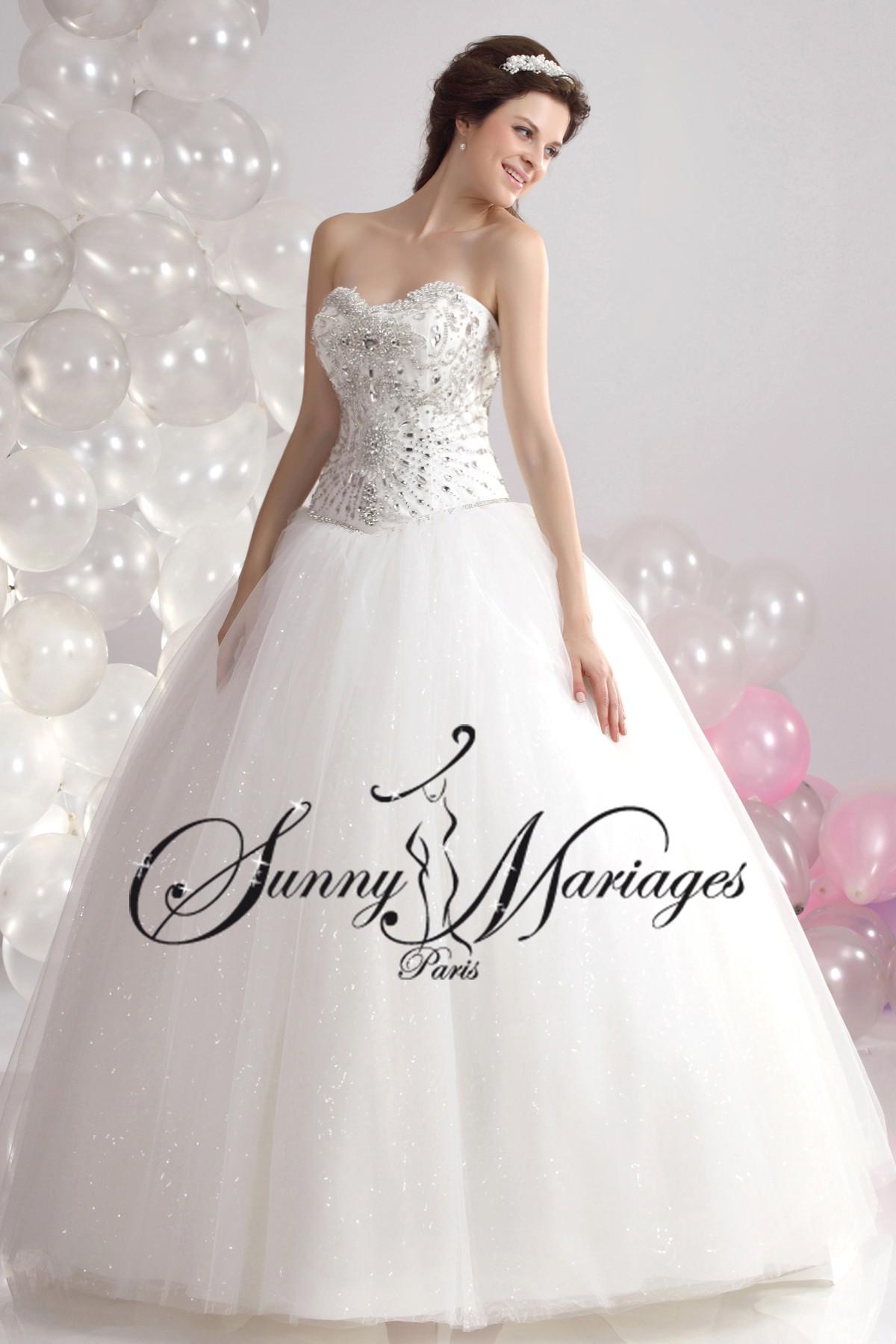 ... Mariage » robe de mariée » Robe de mariee princesse « Féerie